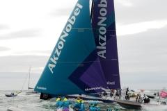 Akzonobel - Volvo Ocean Race Den Haag Scheveningen Volvo Ocean finish M&T Events